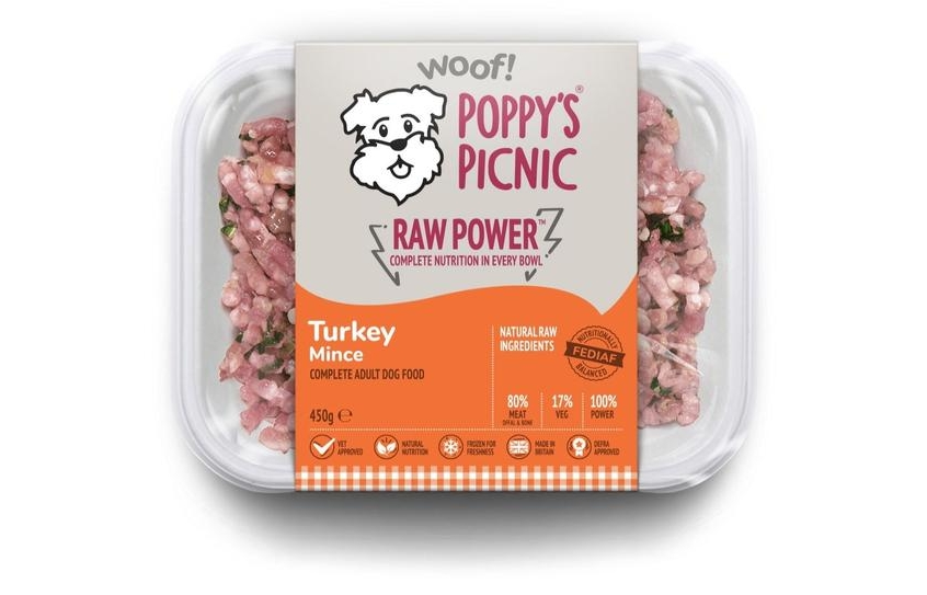 poppy's raw power turkey