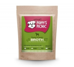 poppy's tasty lamb broth 500ml