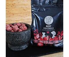 leo & wolf beef meatballs (for dogs & cats)